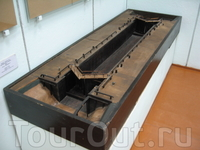 Макет шлюза №1 Мариинского канала. 1896г. Длина 75м, ширина 10м, подъем воды от 3,5 до 1,9м.