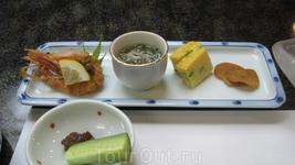Омлет,морепродукты