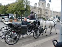 На повозках катают туристов,стать возницей такой повозки можно только по наследству и больше никак! Аналогичная ситуация с гондольерами в Венеции,но насколько ...