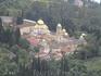 Новоафонский монастырь с высоты Иверской горы