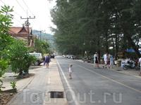 Улочка в Най Тон бич