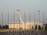 олимпийский парк,вид с набережной