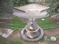 территория вокруг памятника Орджоникидзе