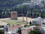 Храм Зевса Олимпийского (Олимпейон) возведенный из мрамора горы Пантелус самый большой храм Греции в римский и эллинистический периоды водивший в знаменитые ...