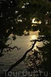 Закат рядом с островом Св. Стефан