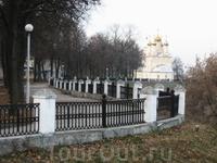 Дорожка вдоль кремлевского оборонительного вала