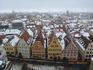 Ротенбург, площадь, вид с башни