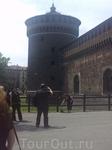 Левая угловая башня замка