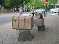 Сундуки на Липовом бульваре