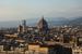 Вид на Флоренцию со смотровой площадки.