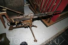 Пулемет из музея оружия.