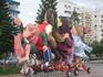 Лимассол...февраль...подготовка к фестивалю...вид сзади )))