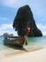 Pra Nang Beach, longteil boat