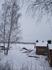 С крепостных валов Лаппеенранты открывается вид на заснеженное озеро Сайма