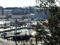 Вид со смотровой площадки Успенской церкви.
