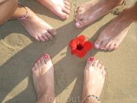 песок чистый теплый и классный