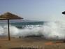 Шторм в Эйлатском заливе бывает 2-3 раза в год...Нам повезло,как раз попали на это явление природы...