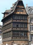 Одно из самых старых зданий Страсбурга.
