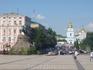 Софийская площадь с памятником  Богдану Хмельницкому