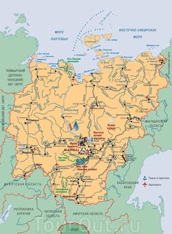 карта якутии скачать - фото 4
