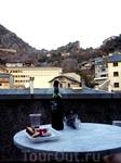 Риоха, Французский сыр и горы..с балкона! что может быть лучше?