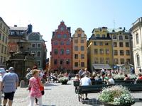 Стокгольм. Главная площадь.