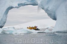 Причудливые ледяные формации