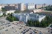 """Управление Куйбышевской железной дороги с высоты смотровой площадки железнодорожного вокзала. Одно из немногих советских зданий, которые имели """"архитектурные ..."""