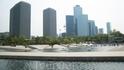 Побережье реки Ханган. Слева здания - это штаб-квартира LG.