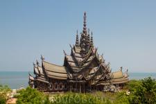 храм Истины в г. Паттайя