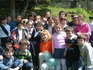 """Школа №2 Я с учениками школы. Во время благотворительной акциии """"Время действовать"""""""