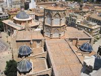 вид с колокольни собора Ла Сео