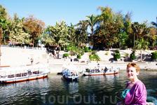 Ботанический сад со стороны Нила