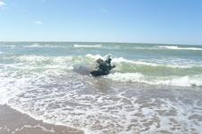 в настоящее время песчаная катастрофа больше не угрожает Куршской косе , можно спокойно наслаждаться видами.