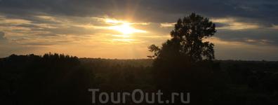 Камбоджа Закат на Ангкор-Ват