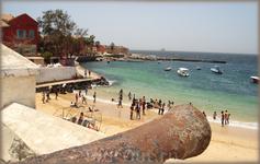 пляж о-ва Горэ