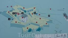 Тронхейм - план крепости.