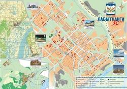 Карта Лабытнангов