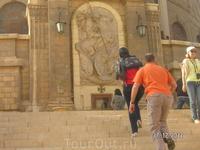 """На улице, которую я назвал """"малый Иерусалим"""" ; монастырь Св. Георгия"""