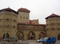 Мюнхен. Городские ворота Карлстор