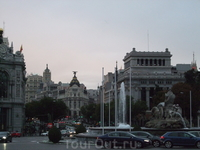 Мадрид. Фонтан Цибелы