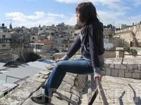 Иерусалим, можно полюбоваться крышами Старого города =)