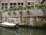 Гент,дом на реке Лейе.
