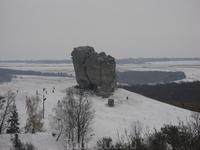 Чертов камень в селе Пидкаминь