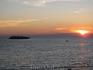 Катерок, море, закат.