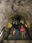 Тунель ведущий к церкви.