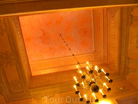 роспись потолка в каплице