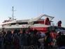Скоростной катер на Санторини