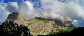 Вид на Пшеха-Су с приюта