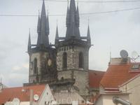 Прага. Вид с крыши отеля